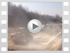Mahl- und Mischdienst R. & M. Voigt, Video - Getreide mahlen für eine Biogasanlage