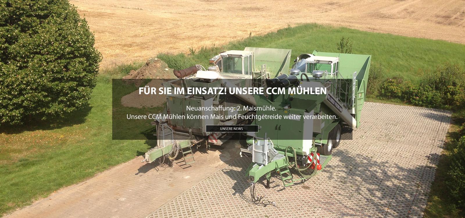 Mahl- und Mischdienst R. & M. Voigt, News CCM Mühle
