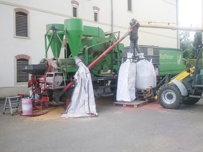 Mahl- und Mischdienst R. & M. Voigt, Saatgutaufbereitung