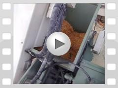 Mahl- und Mischdienst R. & M. Voigt, Video - Körnermais schroten und auf Hänger verladen