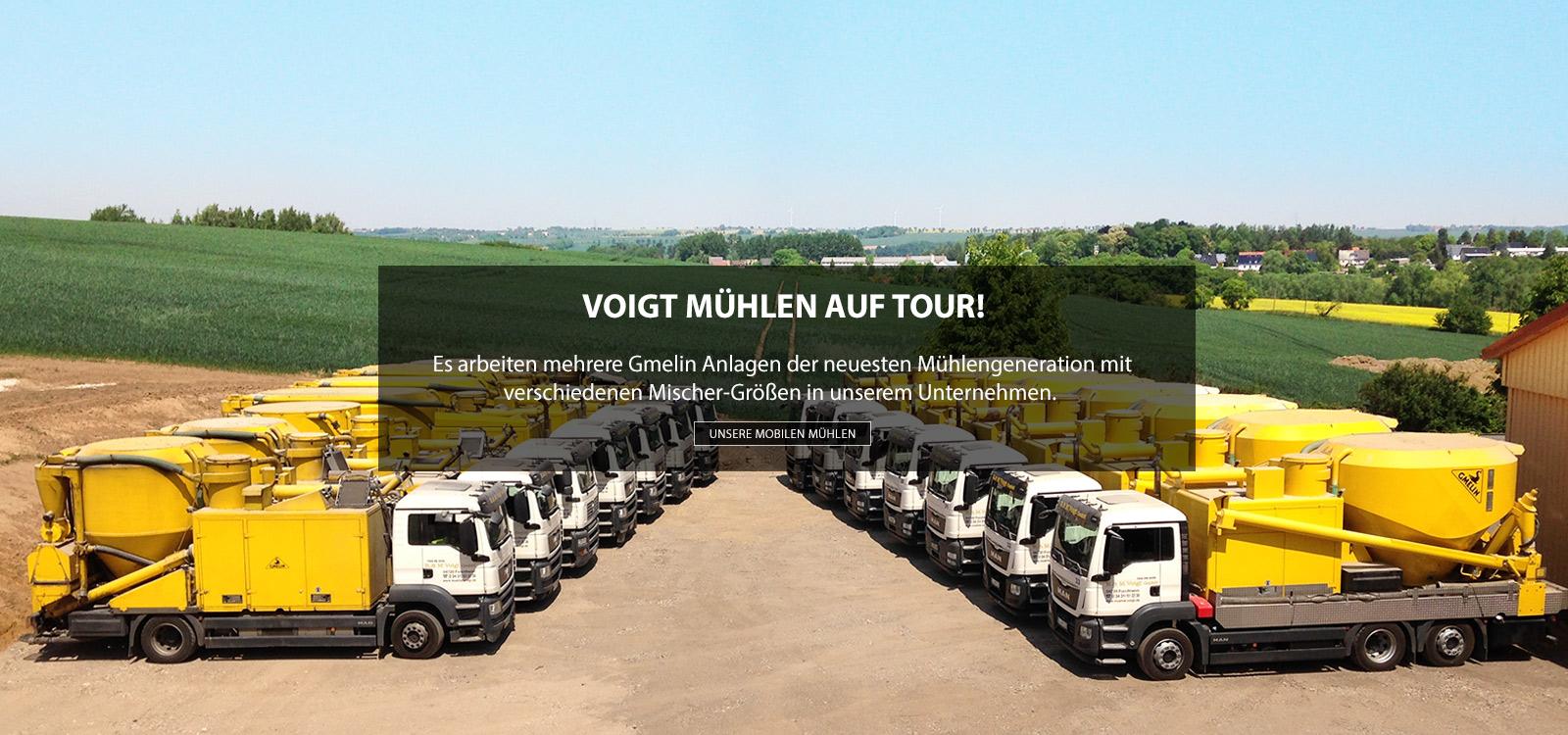 Mahl- und Mischdienst R. & M. Voigt, Mobile Mühlen