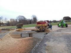 Mahl- und Mischdienst R. & M. Voigt, zerkleinern von Zuckerrüben für eine Biogasanlage