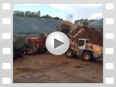 Mahl- und Mischdienst R. & M. Voigt, Video - zerkleinern von Biomasse für eine Biogasanlage